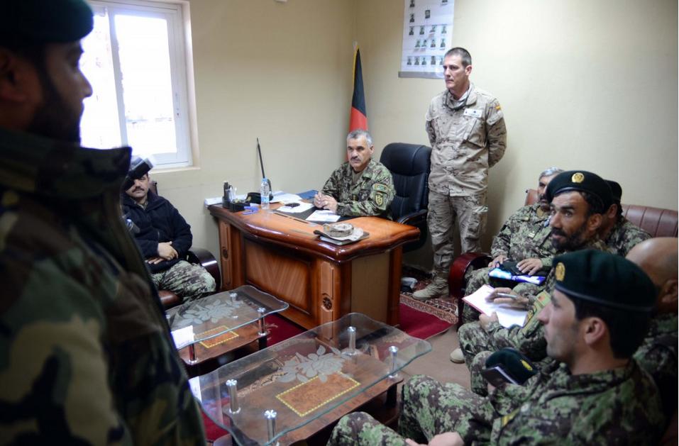 El estrés, el peor infiltrado en Afganistán