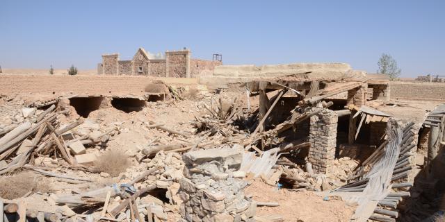 El califato arrasa Qariatén