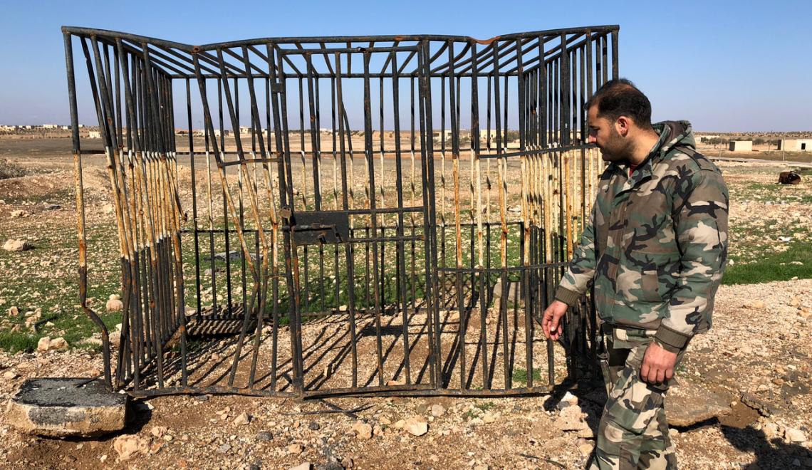 La jaula del ISIS