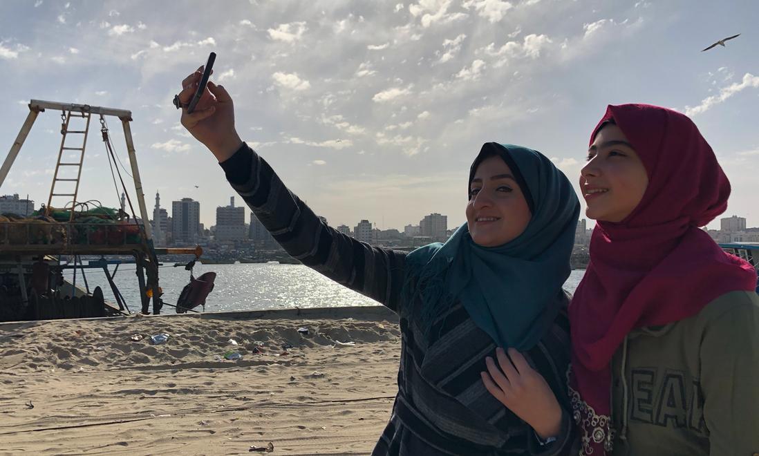 La cara bonita de Gaza