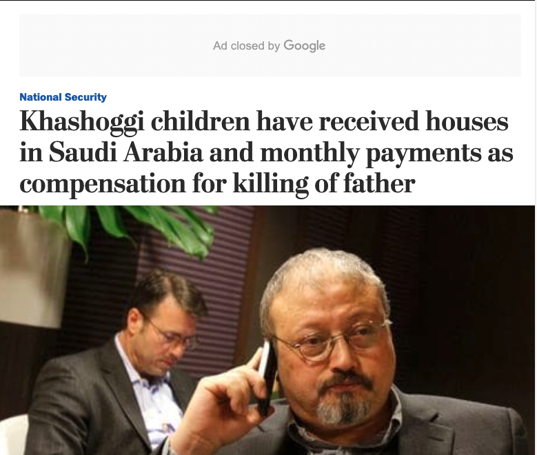 6 meses desde el asesinato de Khashoggi