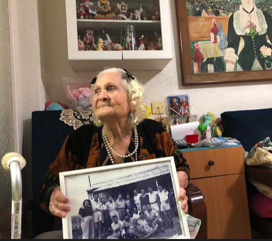 Luna, superviviente de Auschwitz