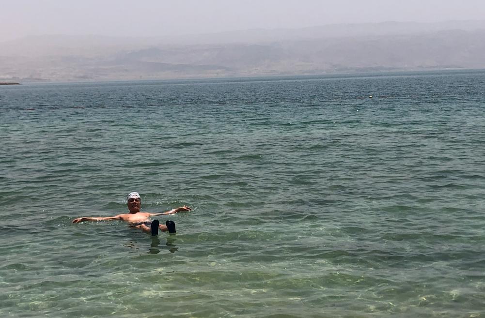 Mar Muerto, zona libre de corona
