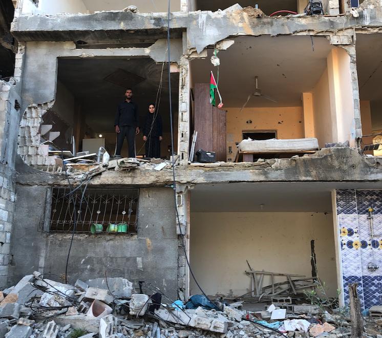 Gaza, zona cero de la ofensiva